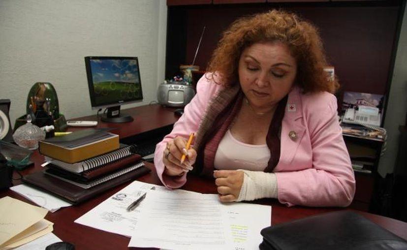 Doris Candila anunció que contrademandará al Ayuntamiento de Mérida. (SIPSE)