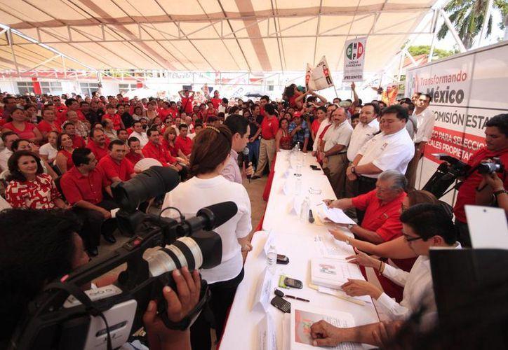 El evento se limitará a la toma de protesta de los Consejeros Políticos Estatales para el periodo 2014-2017. (Foto de Contexto/SIPSE)
