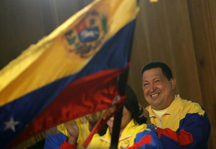 El presidente Hugo Chávez, en imagen de archivo. (EFE)