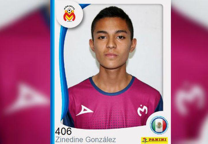 El joven futbolista de la Sub-15 de Morelia fue bautizado con el nombre de Zinedine Zidane González Pérez. (Foto: Milenio La Afición).