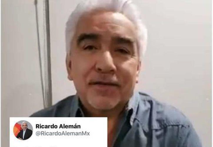 """Ricardo Alemán, es fundador y accionista del periódico """"La Jornada"""". (La Silla Rota)"""