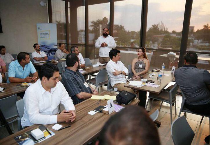 Los proyectos presentados por emprendedores yucatecos a 14 Ángeles Inversionistas requieren de 1 a 9 millones de pesos. (Foto cortesía del Gobierno de Yucatán)