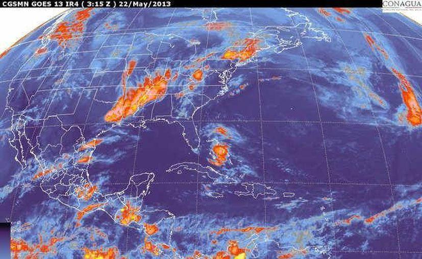 Soplarán vientos del este y noreste de 30 a 50 km/h. (smn.cna.gob.mx)