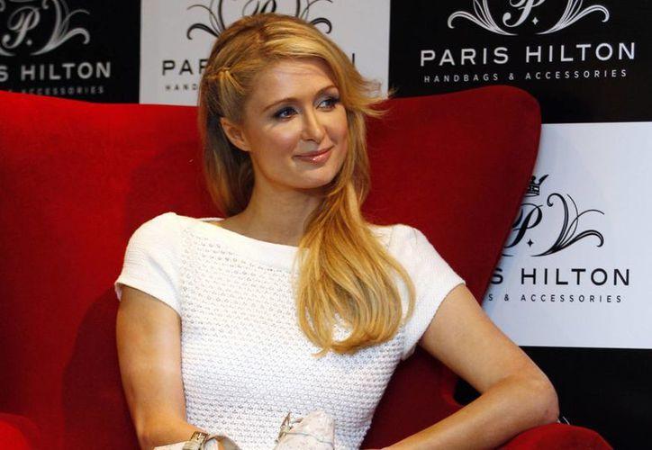 Paris Hilton dijo que decidió viajar a Roma para promover el plan de expansión de su marca en Europa. (Agencias)