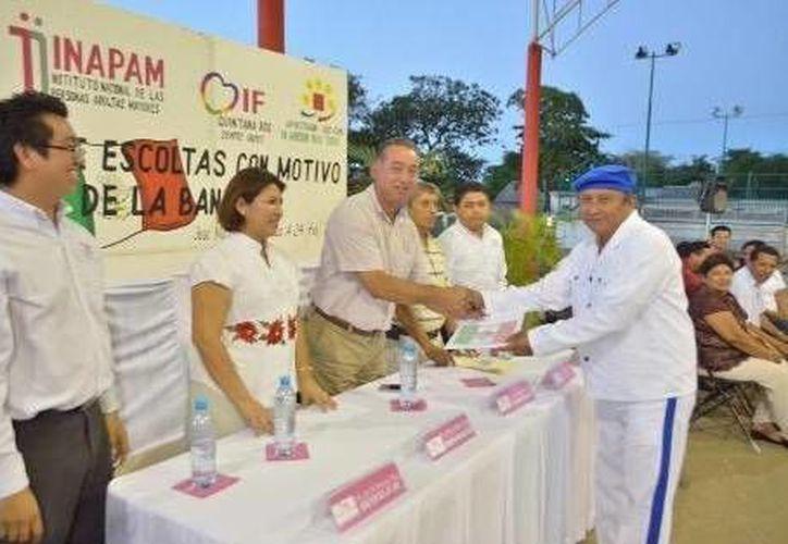 El evento fue encabezado por el presidente municipal Juan Manuel Parra López. (Cortesía/SIPSE)
