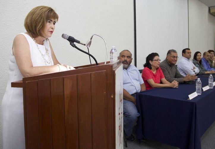 Laura Cervera Urtiaga, presidenta del Colegio de Contadores. (Milenio Novedades)