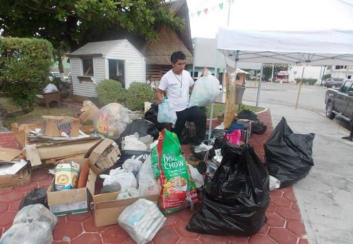 Todos los centros de acopio quedaron inhabilitados. (Facebook/Ecologia-Cancun)