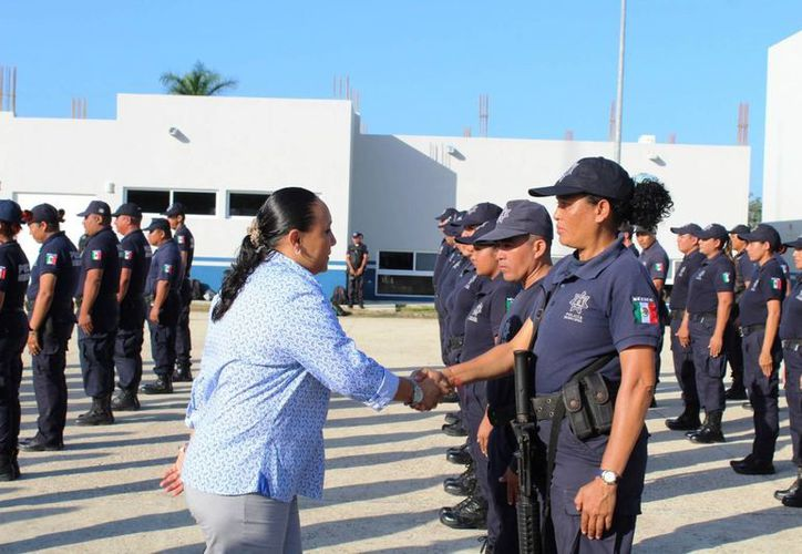 El Ayuntamiento de Solidaridad prevé contratar a nuevos policías. (Daniel Pacheco/SIPSE)