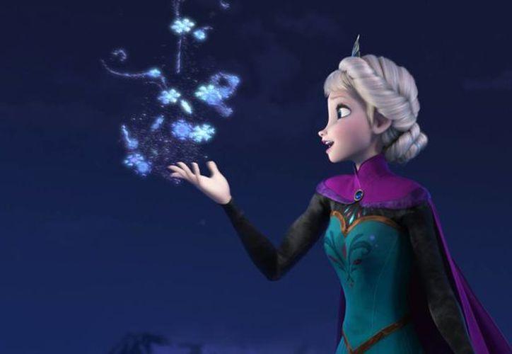 """""""Frozen"""" (o """"Una Aventura Congelada"""" en México) ha sido un éxito de audiencia familiar en las últimas siete semanas. (Agencias)"""
