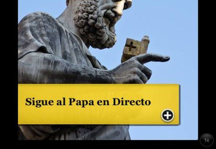 Apps para monitorear la elección del nuevo Papa. (Captura de pantalla)