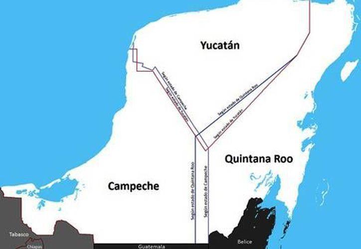 Quintana Roo se mantiene en litigio con el vecino estado de Campeche, competencia que esta por encima de lo electoral. (Redacción/SIPSE)
