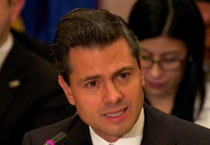 Enrique Peña Nieto asistirá a la ceremonia como invitado de honor. (Notimex)
