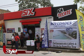 Gran inauguración tiendas de conveniencia SIX