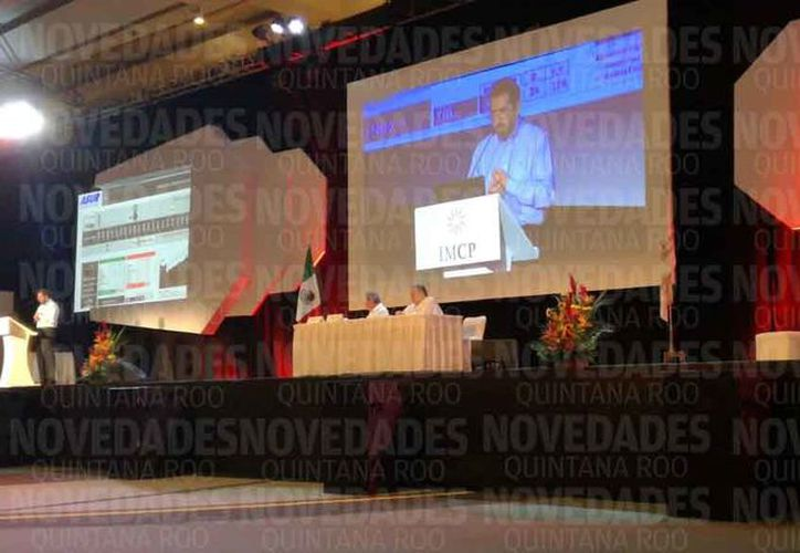 Realizan en Cancún la 95 Asamblea de la Convención Nacional de Contadores Públicos. (Paola Chiomante/SIPSE)