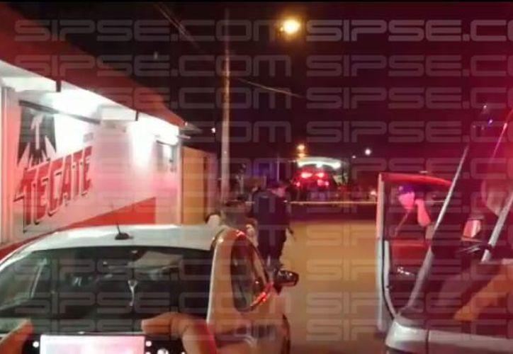 El incidente ocurrió sobre la avenida Miguel Hidalgo. (Redacción/SIPSE)