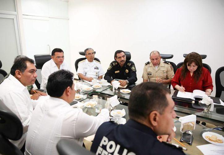 Aspecto de la reunión del Grupo de Coordinación Local en Yucatán. (SIPSE)