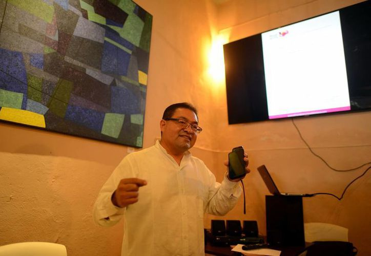 El yucateco José Luis Chan Sabido recién debutó con la Orquesta de Campeche. (SIPSE)