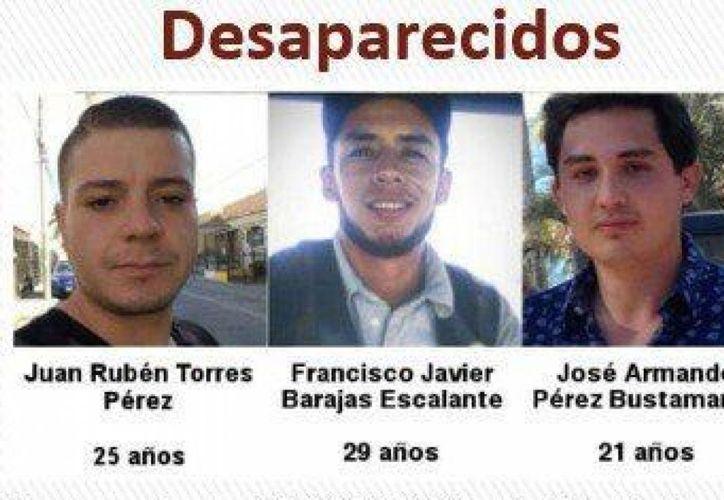 Al rededor de doscientas personas gritaron consignas por el fenómeno de personas desaparecidas en Jalisco. (Foto: El Financiero)