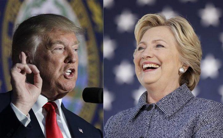 Allan Lichtman, afirma que Donald Trump tiene todo a su favor para ganarle a Hillary Clinton en las elecciones. (AP)