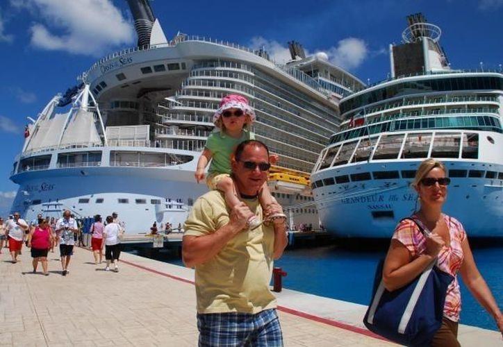 La Costa Maya es de las preferidas por los turistas de cruceros. (Redacción/SIPSE)