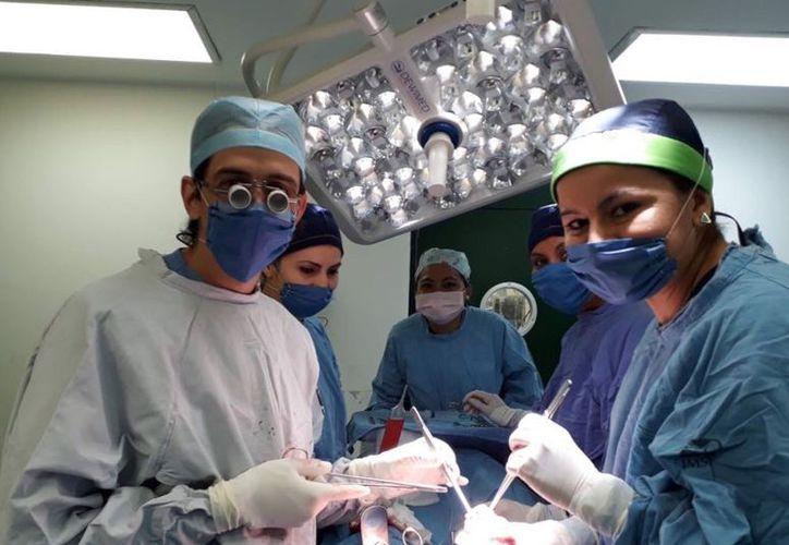 Para llevar a cabo exitosamente este trasplante se reunió a los mejores especialistas del IMSS Yucatán. (Milenio Novedades)