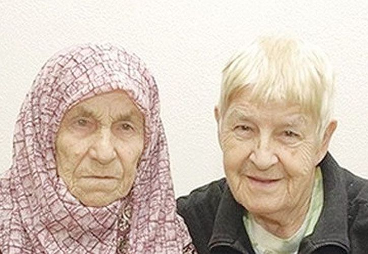 Hedija Talic y Tanija Delic. (Internet)