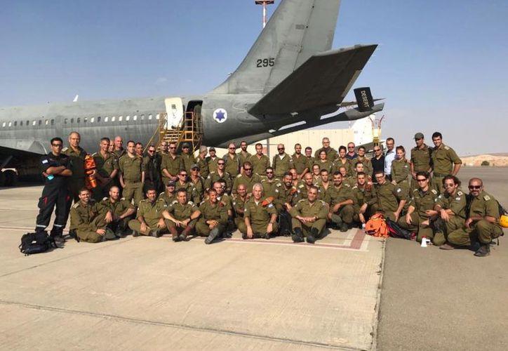 Llegan a México 70 soldados israelíes. (MVS Noticias)