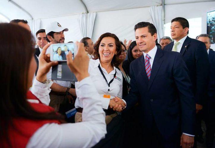 El nivel de aprobación de Peña contrasta con el que disfrutaba cuando comenzó su administración. (facebook.com/EnriquePN)