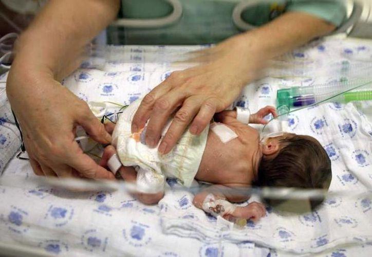 Una mujer de 27 años dio a luz con un ovario congelado que le sustrajeron a la edad de 13 años. (Foto de contexto. Archivo/SIPSE)