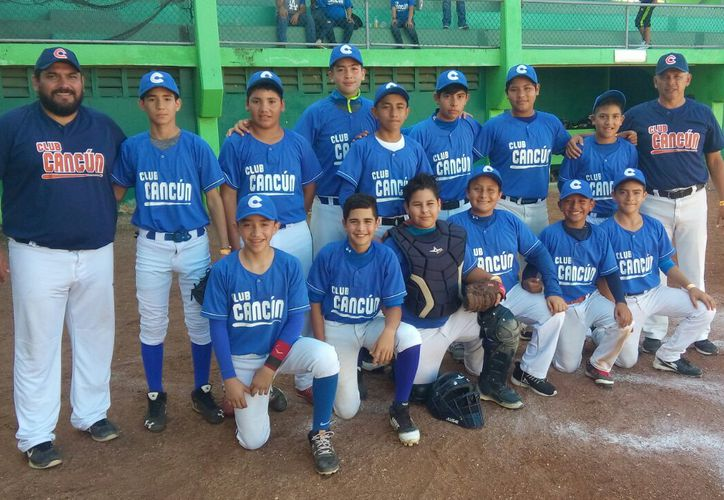 Los niños quintanarroenses apabullaron a los Delfines de Campeche por marcador de 8 carreras a 3. (Boletín)