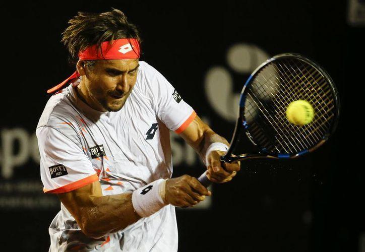 El español David Ferrer tiene marca de 30 victorias  y 5 derrotas en el torneo mexicano de tenis,  en todas sus participaciones. (AP)