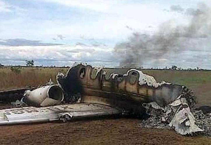 Así es el avión mexicano que derribó Venezuela. (noticias.terra.es)