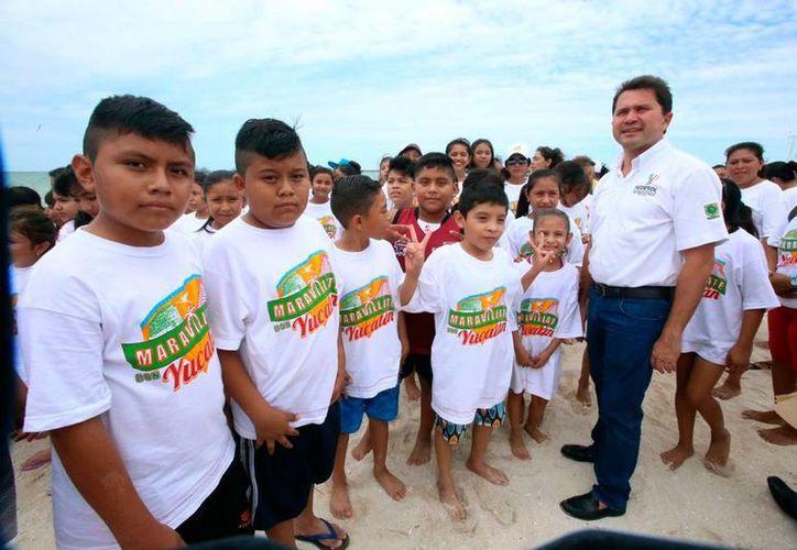 Pequeños disfrutaron del programa de turismo social (Milenio Novedades)