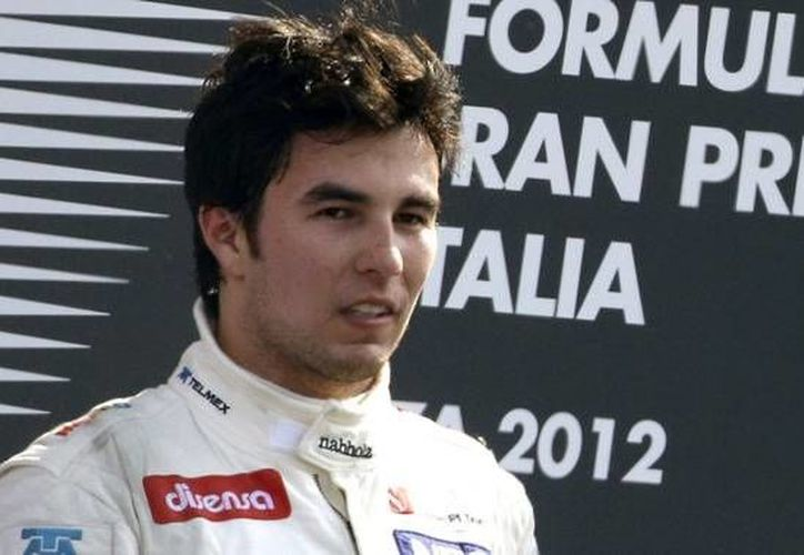 El equipo McLaren hizo énfasis en que el 'Checo' Pérez y Button recibirán un trato igual. (Notimex/Archivo)