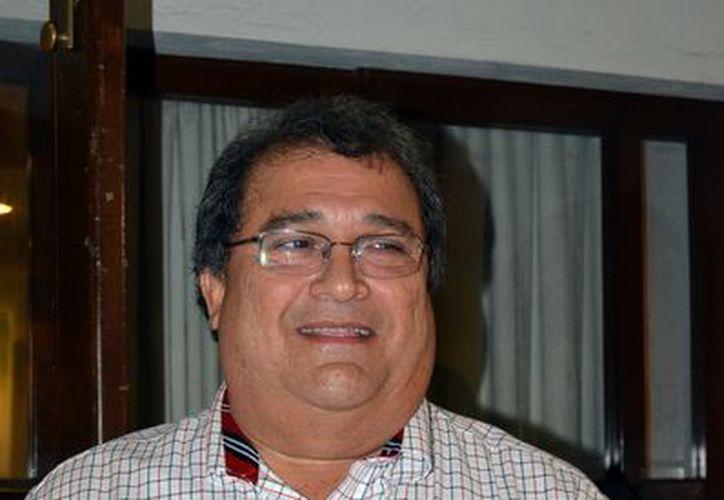 Carlos Alberto Gamboa y Gamboa fue electo presidente. (Theany Ruz/SIPSE)