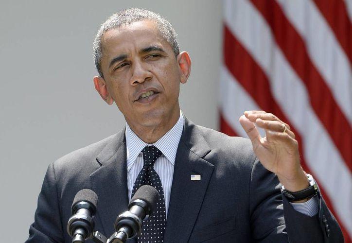 """Obama señaló que la principal amenaza """"no viene más de un liderazgo centralizado de Al Qaeda"""", sino de grupos extremistas y afiliados a esa organización. (Archivo/EFE)"""