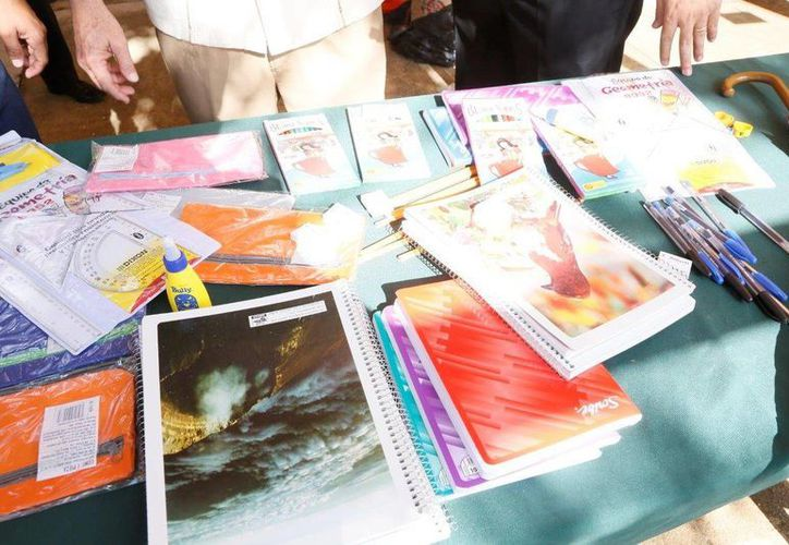En próximos días la compra de útiles escolares ocupará buena parte de la atención de los consumidores en Yucatán. (SIPSE)