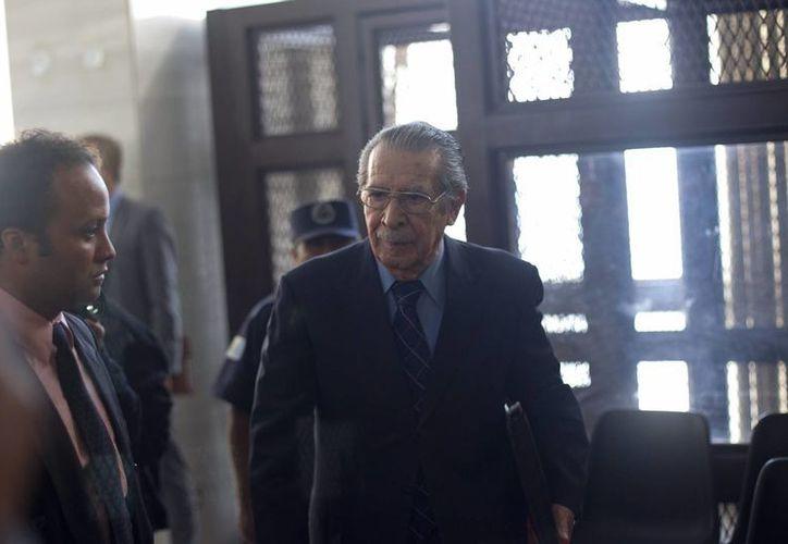 Ríos Montt gobernó de facto entre 1982 y 1983. (EFE)