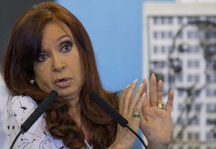 La presidenta Fernández mantuvo reuniones privadas con sus ministros durante su ausencia pública. (Agencias)