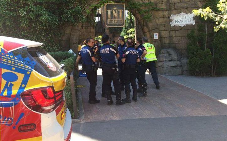 Hasta el lugar se han trasladado efectivos del Samur Protección Civil. (Twitter)