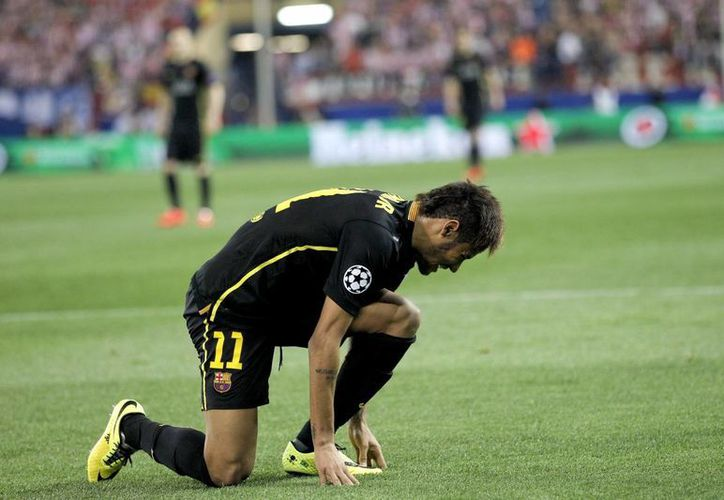 Neymar ya tiene la aprobación médica para jugar esta noche frente al León en la Copa Joan Gamper. (EFE)