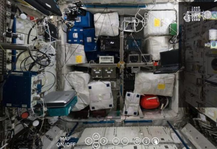 Una de las imágenes del interior de la Estación Espacial Internacional tomada por la astronauta italiana Samantha Cristoforetti. (esa.int)