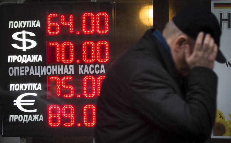 La Moneda Rusa Cayó A Niveles Sin Precedentes Fe Al Dólar Y El Euro