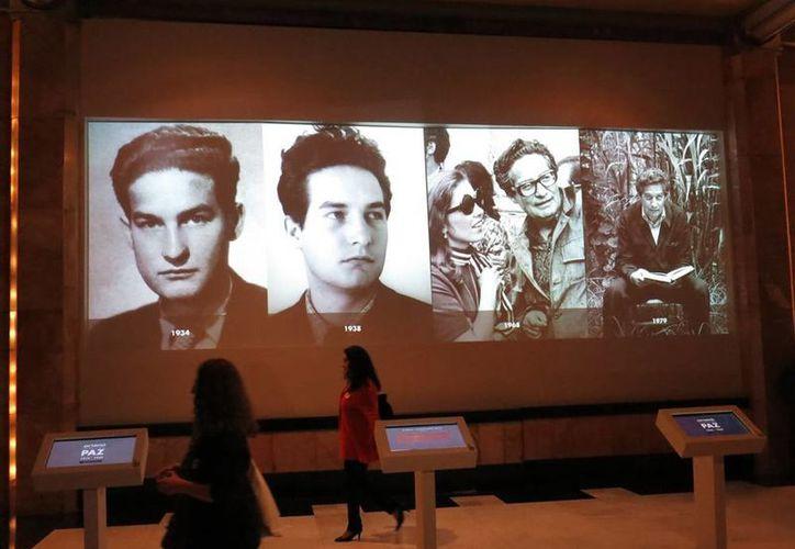 La exposición en el Museo de Bellas Artes está basada e inspirada en textos de Octavio Paz sobre el arte. (AP)