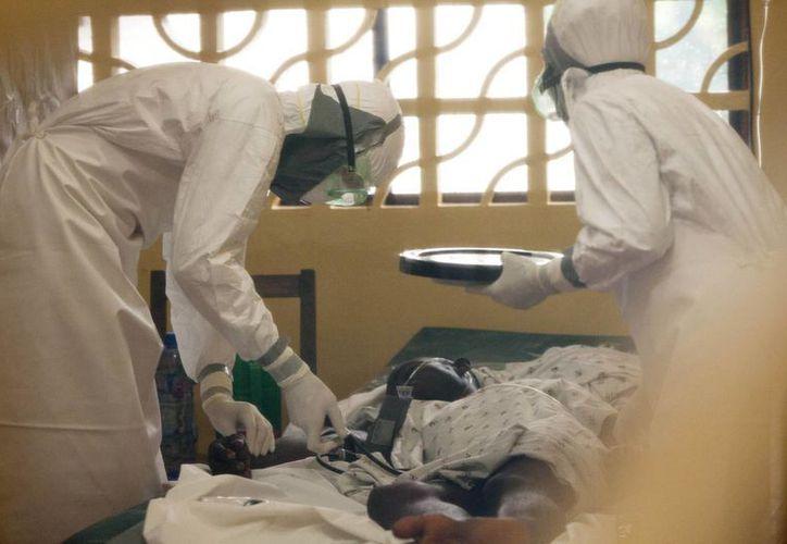 El brote de ébola en África a matado a menos de 700 personas en lo que va del año. (AP)