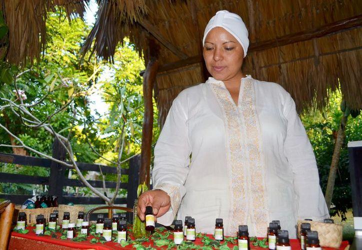 Los productos naturales son a base de esencias de plantas.