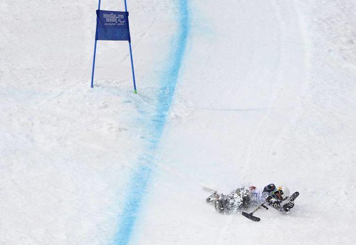 El atleta cancunense es el único latinoamericano compitiendo en los Paralímpicos de Sochi. (Foto: Agencias)