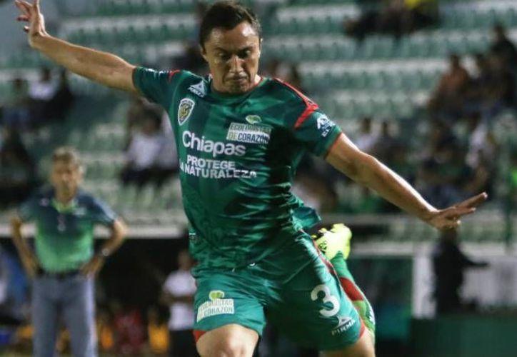 El 'yuca' Paredes planea tener más minutos en el Clausura 2016 que el torneo pasado con los Jaguares de Chiapas, quienes llegaron hasta cuartos de final siendo eliminados por el campeón Tigres. (Archivo Mexsport)