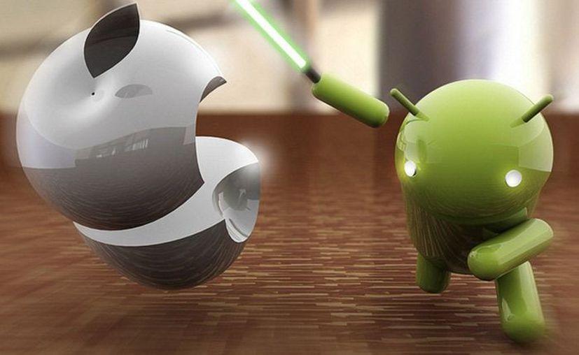Como en todas las batallas entre iPhone y Android, el ganador depende de la preferencia personal. (Contexto)