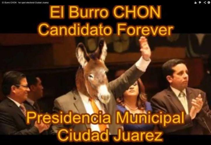 'El Burro Chon' promete acabar con las muertes. (Captura de pantalla)